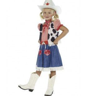 Cowgirl Schatje Meisje Kostuum