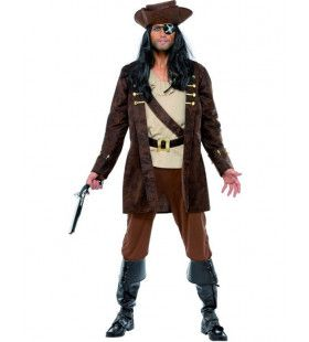 Boekanier Piraat Man Kostuum