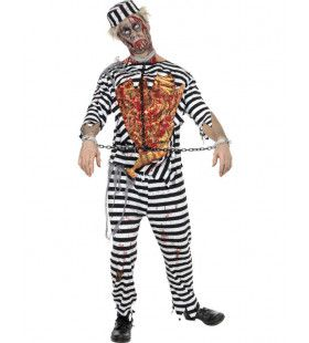 Zombie Gevangene Halloween Man Kostuum