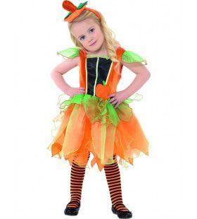 Peuter Pompoen Fee Halloween Baby Kostuum