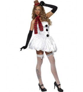 Sexy Sneeuwvrouw Smelt-Smelt Kostuum