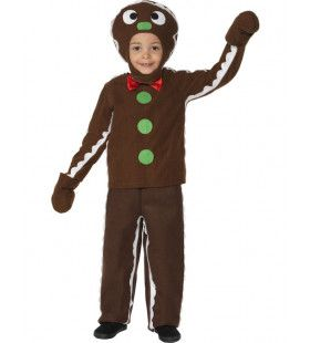 Kleine Peperkoekman Jongen Kostuum