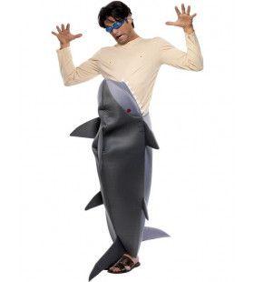 Mensenetende Haai Man Kostuum