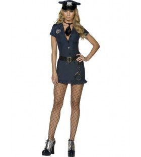 Fever Ondeugend Politie Vrouw Kostuum