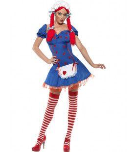 Fever Lappenpop Kostuum Vrouw