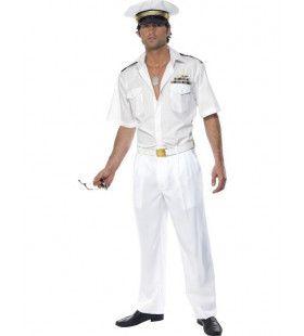 Officieel Top Gun Kapitein Man Kostuum