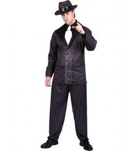 Gangster Uit De Drooglegging Man Kostuum