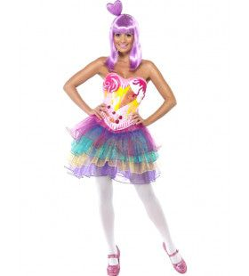 Candy Queen Vrouw Kostuum