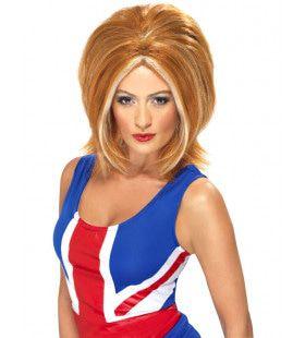 Ginger Power Pruik