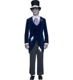 Spookbruidegom Halloween Man Kostuum