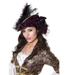 Vrouwelijke Piraat Hoed