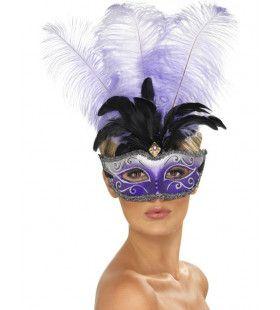 Venetiaans Colombina Oogmasker Vrouw