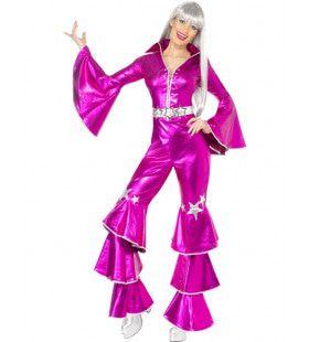 Disco Girl Kostuum Vrouw
