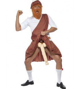 Grappige Penis Highlander Man Kostuum