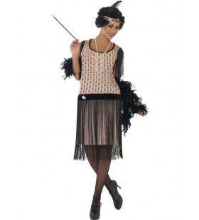 Flapper Girl Outfit Vrouw