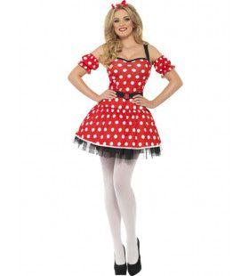 Sexy Miss Mouse Vrouw Kostuum