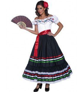 Traditionele Mexicaanse Vrouw Kostuum