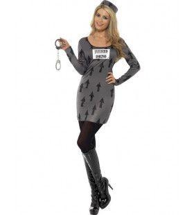 Vrouwen Chique Gevangene Vrouw Kostuum