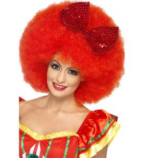 Dames Grote Clown Pruik