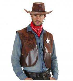 Cowboy Vest Man