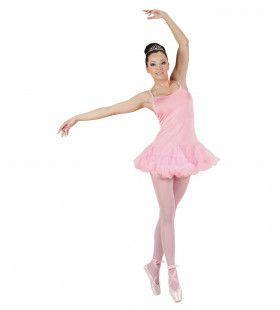 Prima Ballerina Rose Vrouw Kostuum