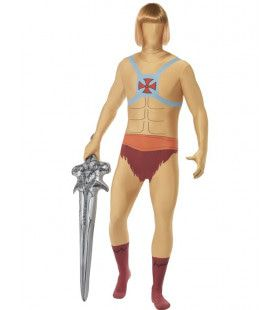 Schwarzenegger He-Man Second Skin Suit Kostuum