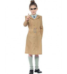 Miss Trunchbull Van Roald Dahl School Directrice Kostuum Meisje