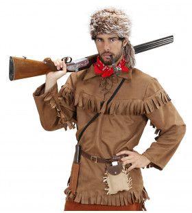 Canadese Trapper Man Kostuum