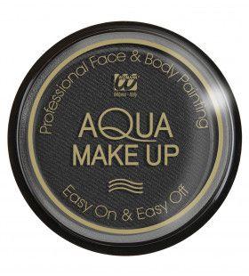 Aqua Make-Up Zwart 30 Gram