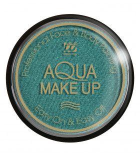 Aqua Make-Up Metallic Groen 15 Gram