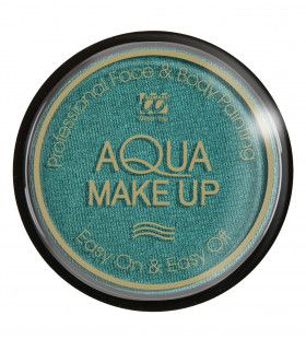 Aqua Make-Up Metallic Groen 15 Gram