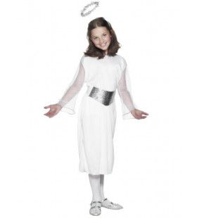 Engeltje Met Aureool Meisje Kostuum