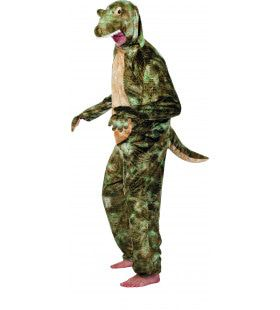 Gevaarlijke Pluche Krokodil Man Kostuum