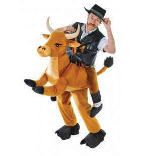 Rijden Op Een Dolle Stier Kostuum