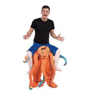 Op De Rug Van Een Diepzee Octopus Man Kostuum