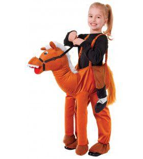 Galopperen Op Een Paard Kind Kind Kostuum