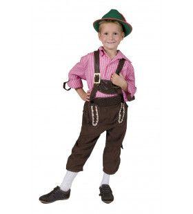 Viktualienmarkt Jongen Kostuum