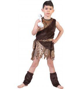 Oerie De Holbewoner Kind Kostuum