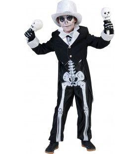 Bonny Skulla Jongen Kostuum