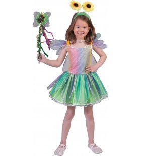 Fantasie Vlinder Meisje Kostuum
