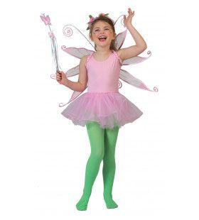 Roze Ballerina Belle Meisje Kostuum