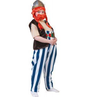 Obelix De Gallier Jongen Kostuum
