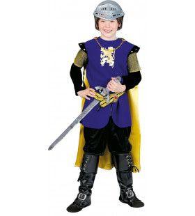 Moedig Hart Ridder Jongen Kostuum