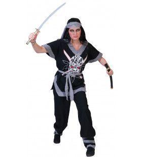 Shakumi Ninja Vrouw Kostuum
