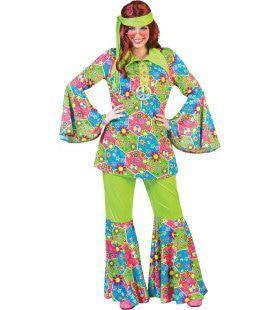 Flower Funk Hippie Pak Vrouw