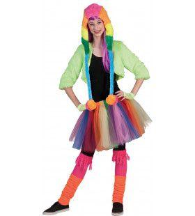 Sunny Regenboog Rok Vrouw Kostuum