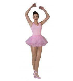 Ballerina Vrouw Roze Kostuum