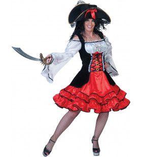 Piraat Nieuw Amsterdam Jurk Vrouw