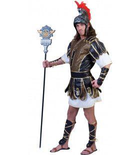Romeinse Strijder Gladiatrix Man Kostuum