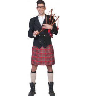 Rode Schot Flannagan Man Kostuum